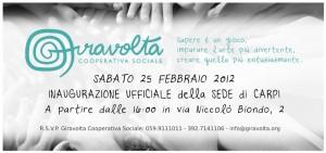 Inaugurazione 25 febbraio 2012